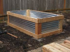 corrugated iron garden beds corrugated iron
