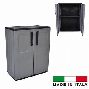 Meuble De Rangement Exterieur : meuble de rangement pour balcon achat vente meuble de ~ Edinachiropracticcenter.com Idées de Décoration