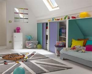 amenager une chambre d ado - combles pour une chambre d 39 enfant sous les toiles