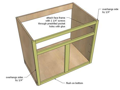 plan  kitchen cabinet  woodworking
