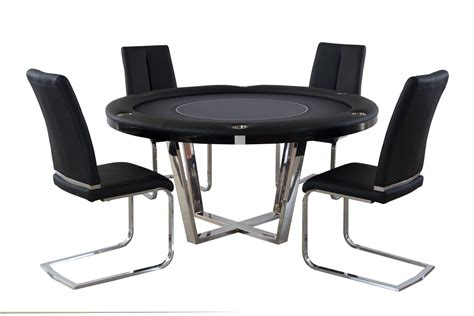 round poker table with dining 2 in 1 manetho round poker and dining table pharaoh usa