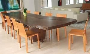 Table Bois Massif Brut : table a manger bois cuisine table haute trendsetter ~ Teatrodelosmanantiales.com Idées de Décoration