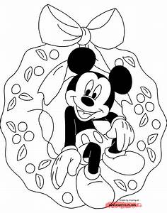 Disney Christmas Coloring Pages 2 | Disneyclips.com