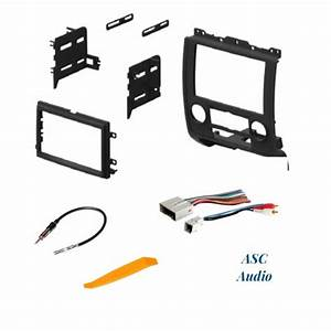 Car Stereo Radio Install Dash Kit  Wire Harness  And