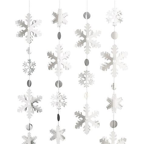 Girlande Fenster by Schneeflocken Girlande Bastel Set Www Cartissimi
