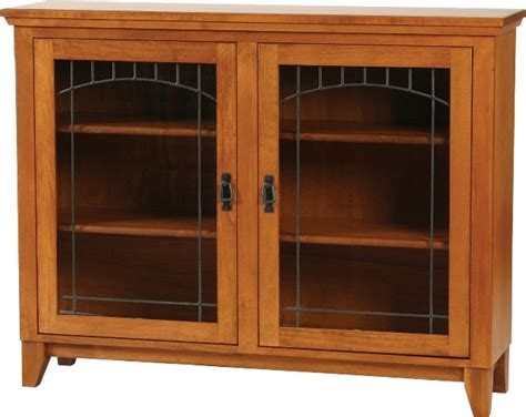 low bookcase with doors mission low bookcase with doors