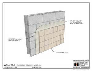 06 070 0104 wall tile thinset on concrete masonry international masonry institute