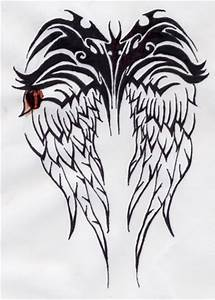 Tribal Wing Tattoo by intoxicatus on DeviantArt