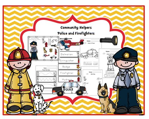 Labor Day On Pinterest  Community Helpers, Preschool Printables And Emergent Readers