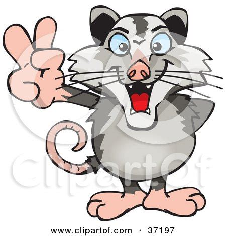 opossum clipart royalty free rf clipart illustration of a baby