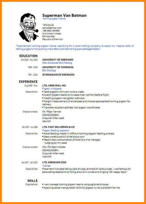 It Professional Resume Format Pdf by 8 Cv Format Sle Pdf Cashier Resumes