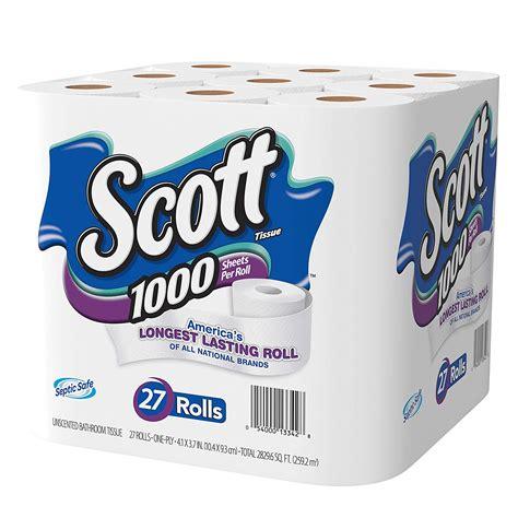 Bathroom Tissue by Toilet Paper 27 Rolls Bath Tissue Septic Safe