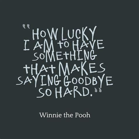 lucky         goodbye