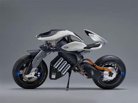 Motor Yamaha by Yamaha Motoroid Concept Is A Semi Autonomous Bike That Ll