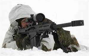 Sniper with Barrett 50 wallpaper