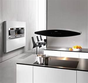 hotte pour ilot central cuisine cuisine en image With hotte de cuisine pour ilot central