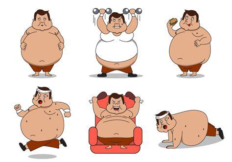 foto de Fat Guy Character Vector Download Free Vector Art Stock
