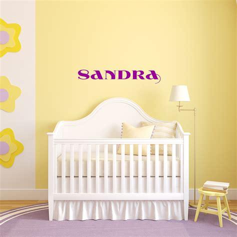 stickers chambre bébé personnalisé sticker prénom personnalisé classique magnifique