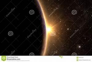 Solar System - Planet Mercury Stock Illustration - Image ...