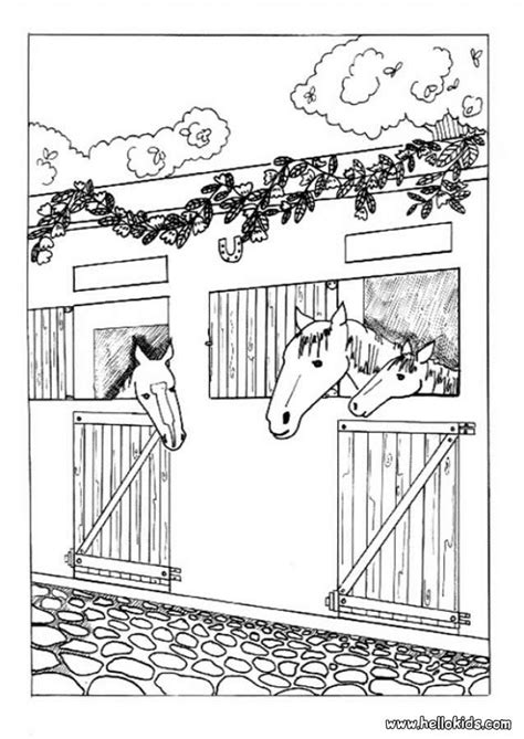 Star Stable Horse Coloring Pages