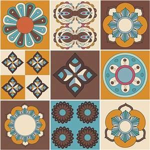 Stickers Carreaux De Ciment Cuisine : stickers muraux carreaux de ciment 30 stickers carreaux ~ Melissatoandfro.com Idées de Décoration