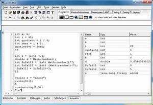 Fakultät Berechnen Java : de java editor java editor ~ Themetempest.com Abrechnung
