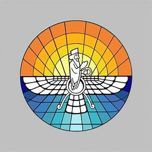 Pics For > Zoroastrianism Symbol
