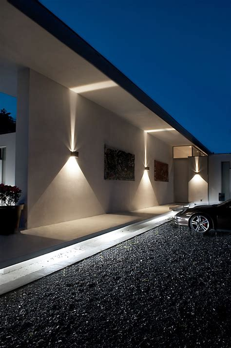 Cube Led Outdoor Wall Lamp From Lightpoint As Design