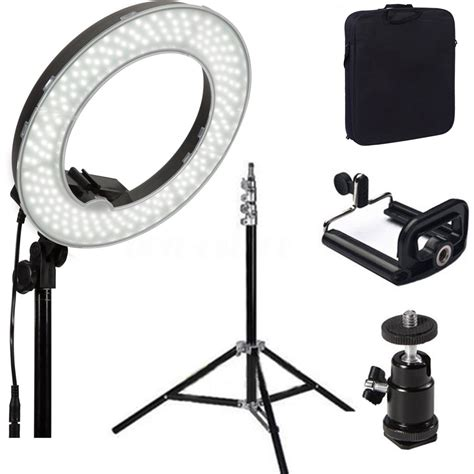 dimmable led ring light 14 39 39 5500k dimmable diva led ring light for video photo