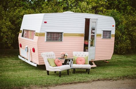 paint  vintage camper home design garden