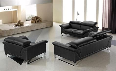 contemporary black leather sofa elite contemporary black leather sofa set anaheim