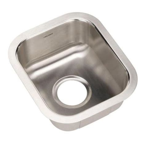 home depotca bar sink houzer club series undermount stainless steel 12 5 in