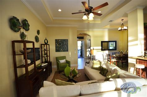 The Isabella Model Home In Pga Verano  Tradition,fl