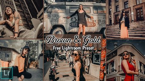 How to install your free lightroom presets. Lightroom Mobile Presets Free Dng | Lightroom Brown & Gold ...