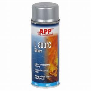 peinture haute temperature 800c couleur alu en bombe With bombe de peinture pour aluminium