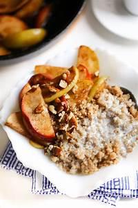 Healthy Breakfast Quinoa with Coconut Milk and Apples  Healthy