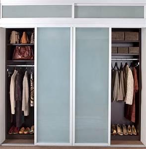 Closet Sliding Doors Modern Closet New York By
