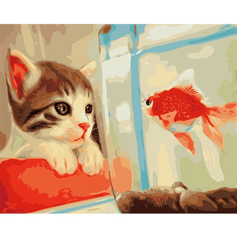 malen nach zahlen katze fisch malen nach zahlen eu