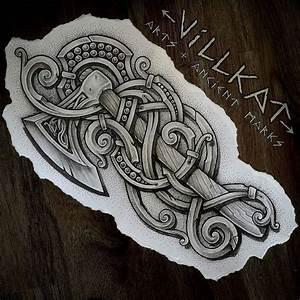 1149 bästa bilderna om Tattoveringer, Viking stil på ...
