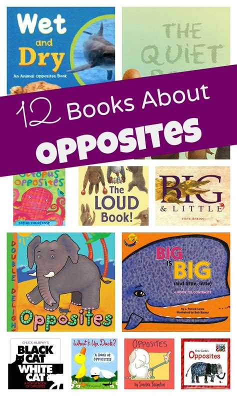 12 books about opposites 627 | 12 Books About Opposites