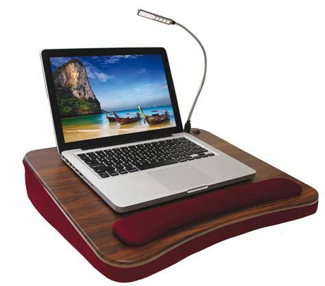 lap desk with light amazon com sofia sam deluxe memory foam lap desk with