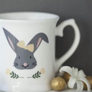 Free Mug Embroidery Design Personalised Child 39 S Easter Bunny Mug By Seahorse