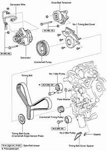 2008 Toyota Yaris Serpentine Belt Diagram