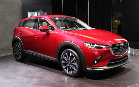 2019 Mazda Cx3 On Display In New York  The Car Guide