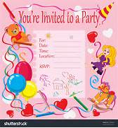 Birthday Party Invitations Cards Online Invitation Card Maker Free English ROSE Tea Party Invitation Card By Nslittleshop Printable Birthday Party Invitations For Kids New Party