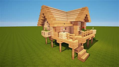 Minecraft Starter Haus Bauen Tutorial [haus 53] Youtube