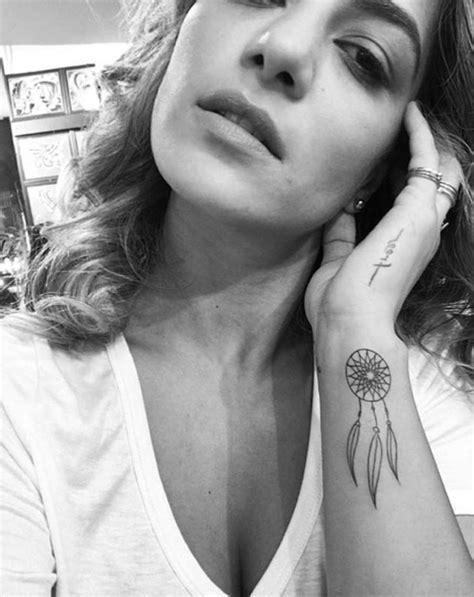 1001 + ideas for a cute and elegant dream catcher tattoo