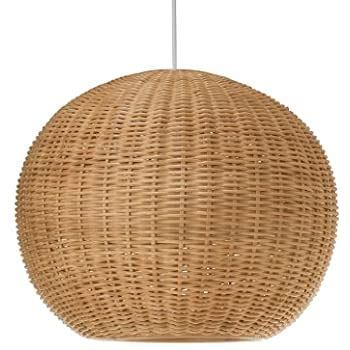 Industrial Pendant Light Modern simple rattan chandelier