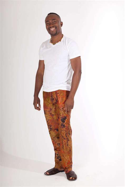 pantalon africain homme en bazin africouleur