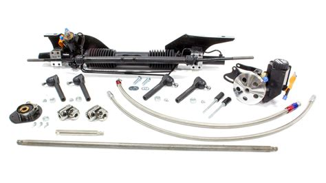 unisteer perf products ford mustang 1965 66 power rack and